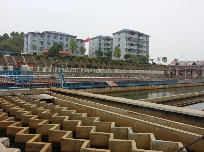 宜章县自来水公司自控工程