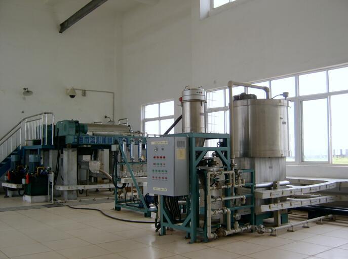 四水厂污泥处理系统